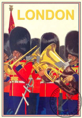 London,  Palace Guards  Brass Band